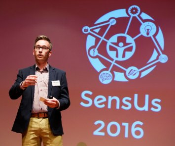 Barry Fitzgerald at SensUs 2016